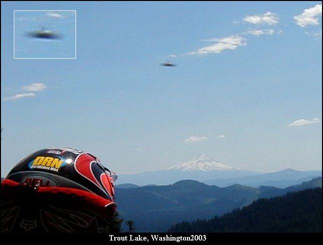 НЛО, 2003 год - Траут-Лейк, штат Вашингтон.