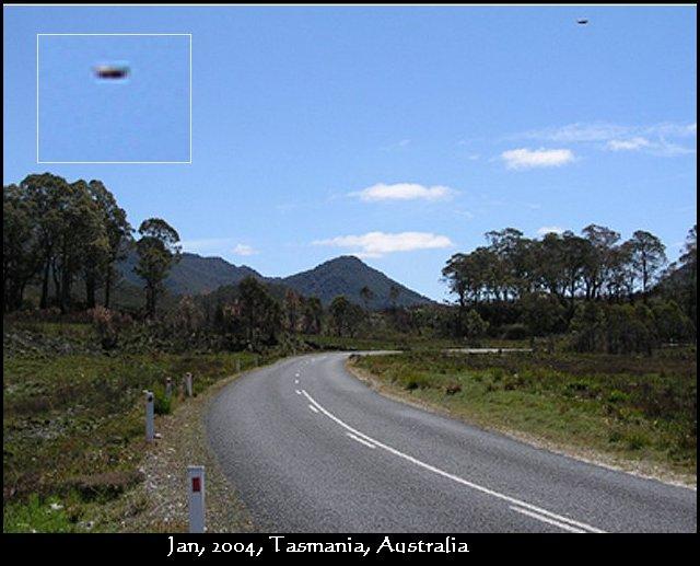 НЛО, Январь, 2004 год – Тасмания, Австралия.