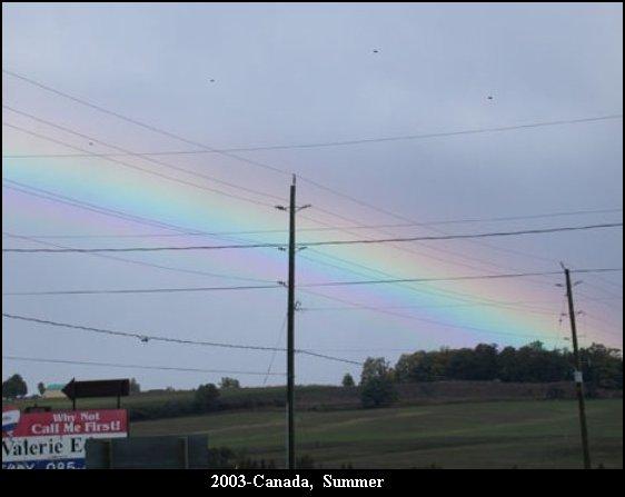 НЛО, 2003 год - Канада. Лето.