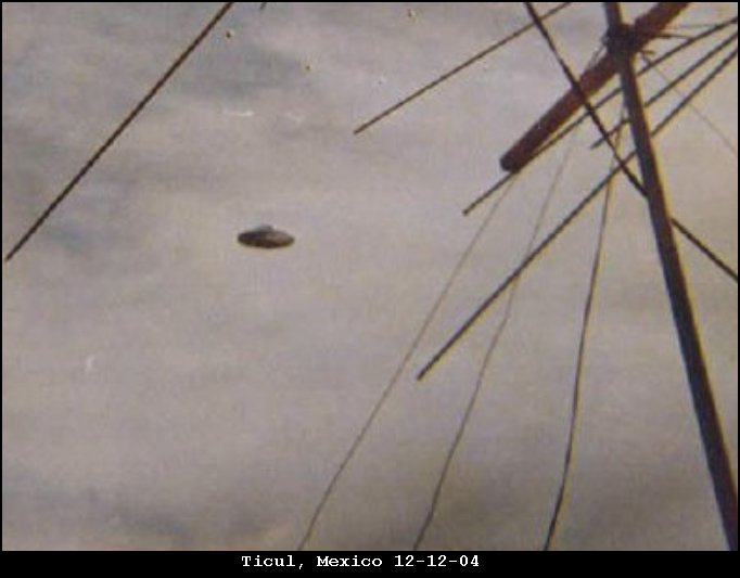 НЛО, 12 декабря, 2004 год – Тикуль, Мексика.