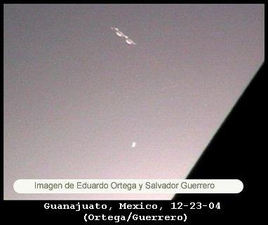 НЛО, 23 декабря, 2004 год – Гуанахуато, Мексика.