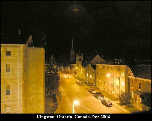 НЛО, 4 декабря, 2004 год - Кингстон, Онтарио, Канада.
