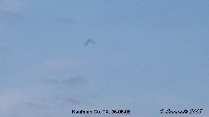 НЛО, Май, 2005 год – Кауфман, штат Техас.