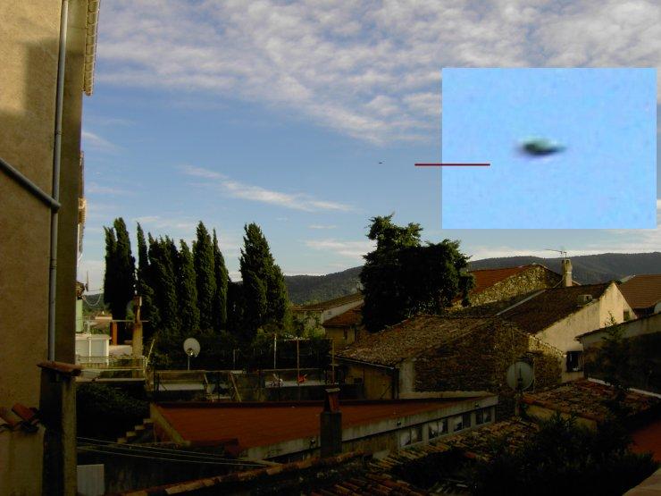 НЛО, 2005 год – Франция.