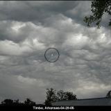 НЛО, 28 апреля, 2005 год – Тимбо, штат Арканзас.