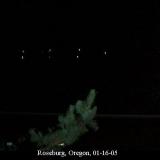 НЛО, 2005 год Розбург, штат Орегон.