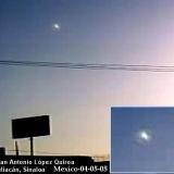 НЛО, 5 апреля, 2005 год – Мехико.