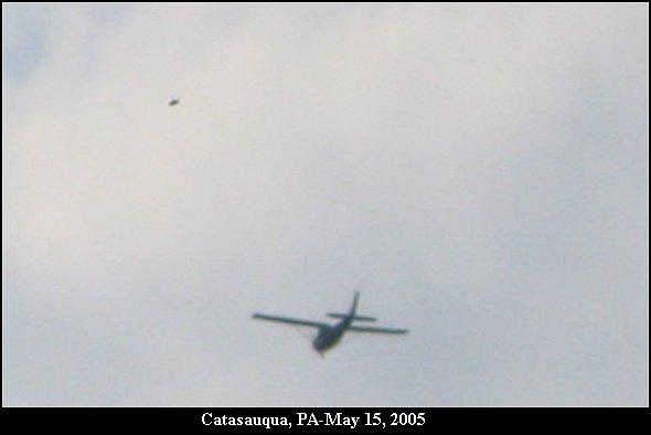 НЛО, 2005 год – Кэйтазокуа, штат Пенсильвания.