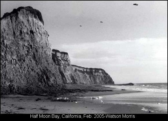 НЛО, 12 декабря, 2005 год – Халф Мун Бей, штат Калифорния.