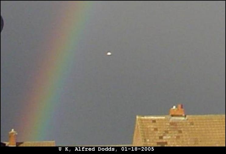 НЛО, 18 января, 2005 год – Нортумберленд, Великобритания.