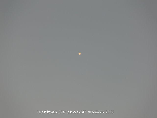 НЛО, 2006 год – Кауфман, штат Техас.