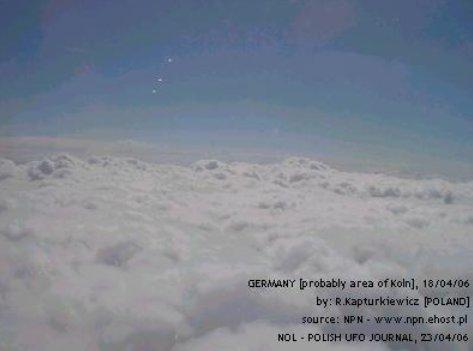 НЛО, 2006 год – Польша – Германия.