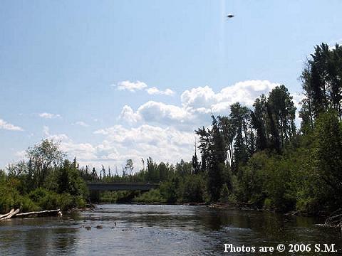 НЛО, 3 июля, 2006 год – река Джекфиш, Альберта, Канада.