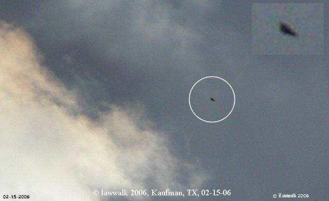 НЛО, 18 февраля, 2006 год – Восточный Техас.