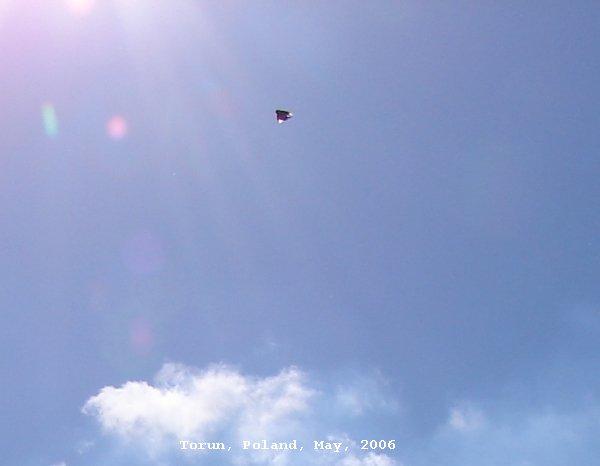 НЛО, 20 мая, 2006 год – Торунь, Куявско-Поморское воеводство.