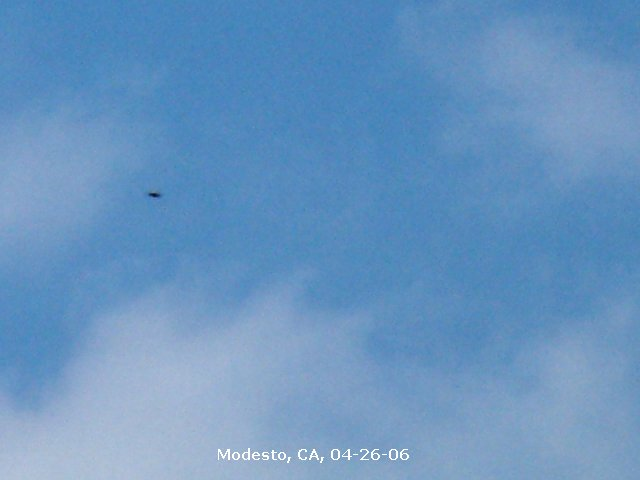 НЛО, 2006 год – Модесто, штат Калифорния.