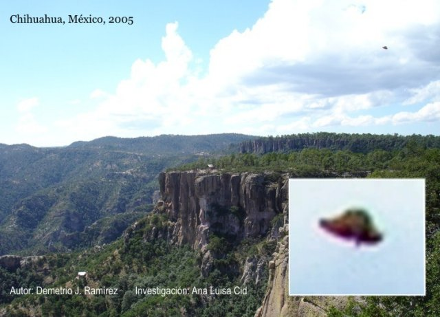 НЛО, 18 октября, 2005 год – Мексика.