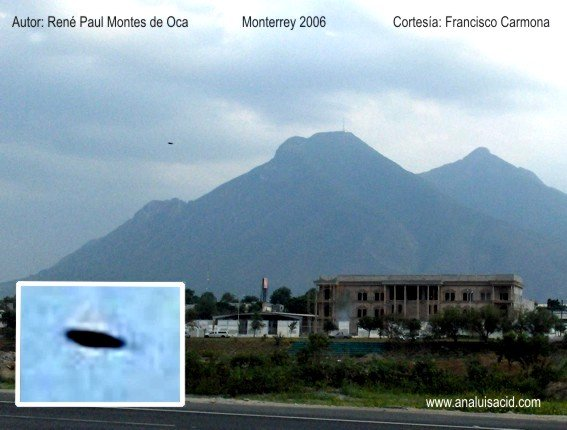 НЛО, 2006 год – Монтеррей, Мексика.
