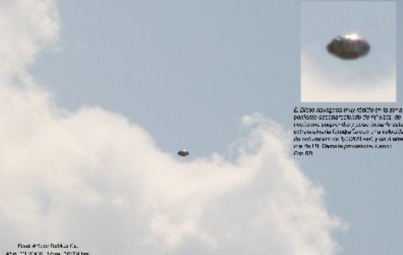 НЛО, 20 апреля, 2006 год – Аргентина.