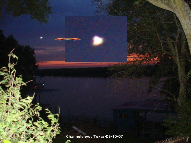 НЛО, 2007 год – штат Техас.