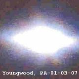 НЛО, 2007 год – Юнгвуд, штат Пенсильвания.