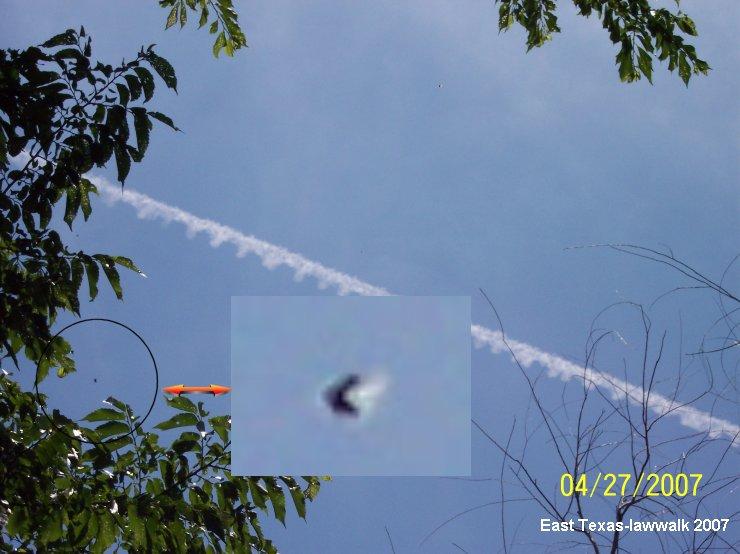 НЛО, 2007 год - Восточный Техас. Фотография №4