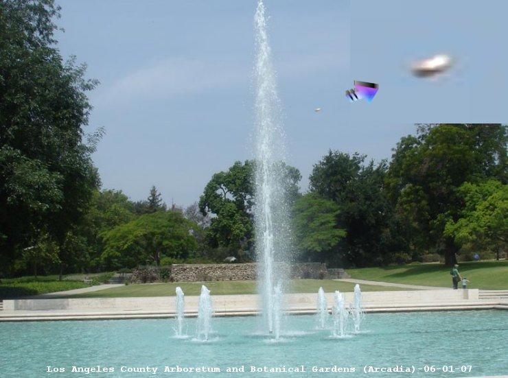 НЛО, 2007 год – Лос-Анджелес, штат Калифорния.