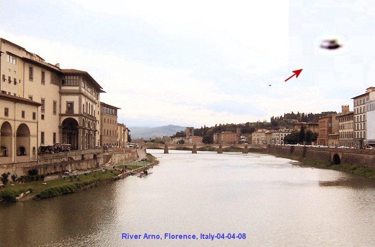 НЛО, 2008 год – Флоренция, Италия.