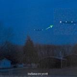 НЛО, 31 января, 2008 год – Индиана.
