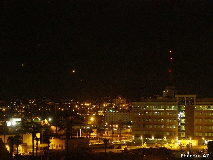 НЛО, 2008 год – Феникс, штат Аризона.