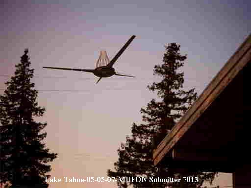 НЛО, 5 мая, 2007 год – озеро Тахо.