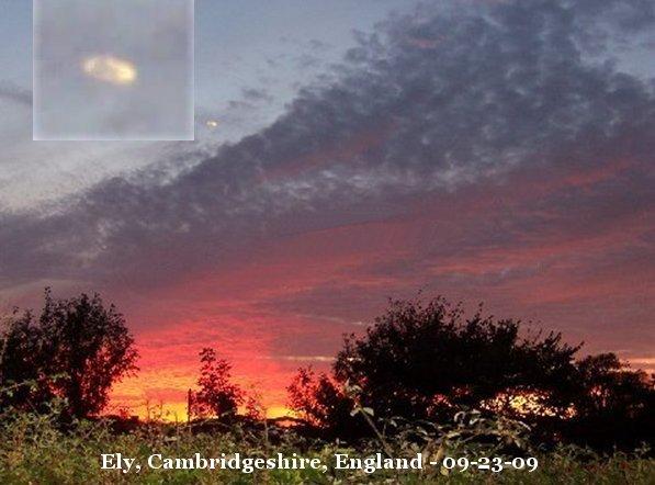 НЛО, 2009 год – Великобритания.