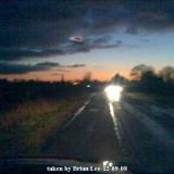 НЛО, Январь, 2009 год – юг Сомеркотса, Великобритания.