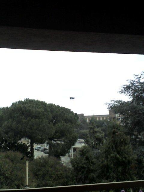 НЛО, 19 января, 2011 год – Рим, Италия.