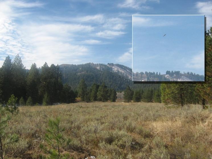 НЛО, 27 ноября, 2010 год – штат Айдахо.