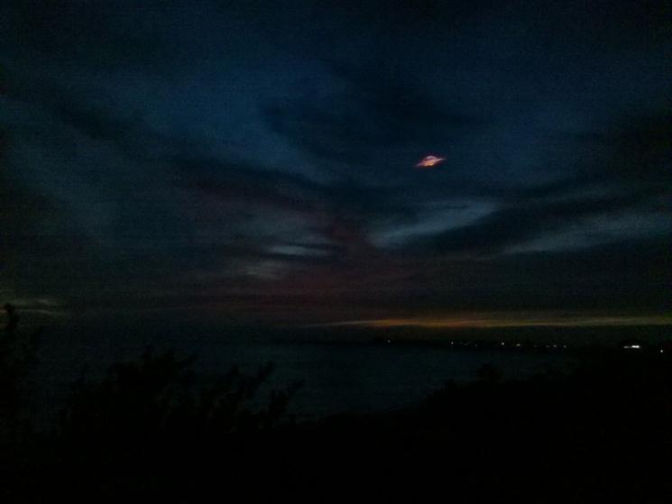 НЛО, 7 января, 2013 год – остров Ларго-дель-Сур, Куба, 18:27 по местному времени.