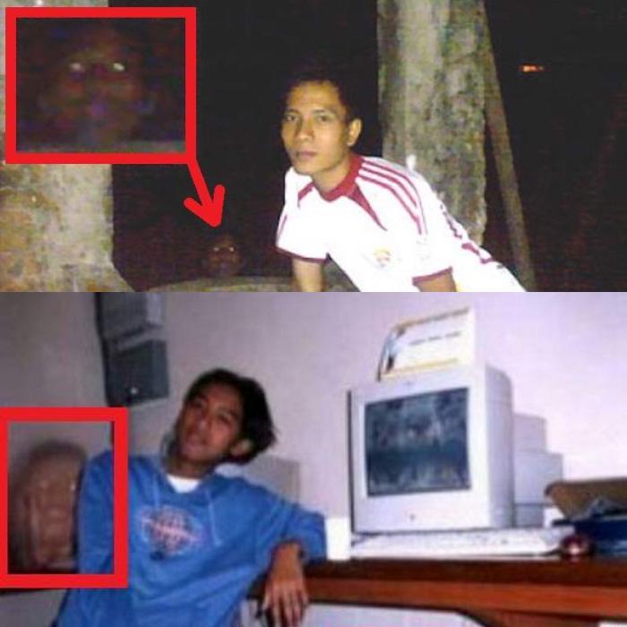 Призрак попал на две фотографии