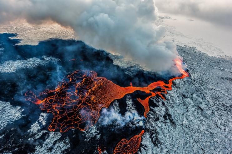 Вулканическая Исландия