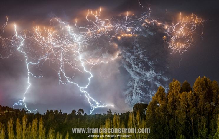 Извержение Кордон Кауле