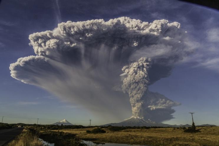 Извержение Кальбуко