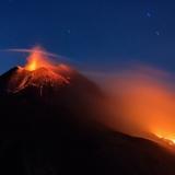 Новый юго-восточный кратер вулкана Этна