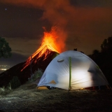 Вулкан Фуэго, Антигуа, Гватемала