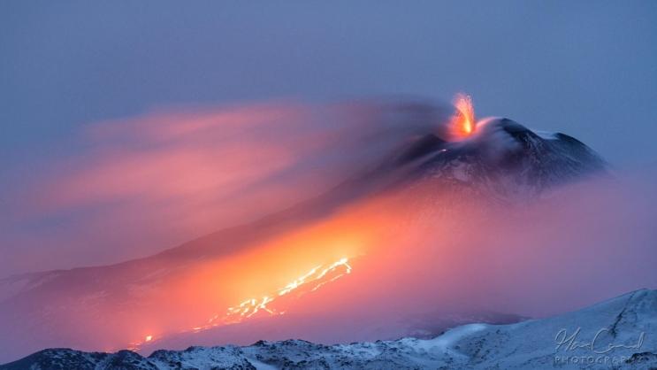 Этна – огонь и лед