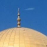 Кадр НЛО в Иерусалиме