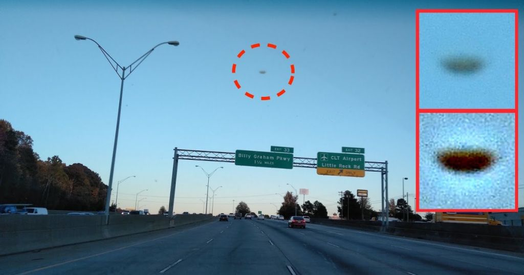 НЛО в Северной Каролине
