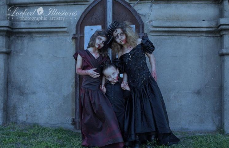 Мрачные фотографии детей
