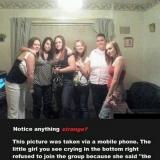 Призрак на сняли на фото