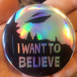 Значок I want to believe