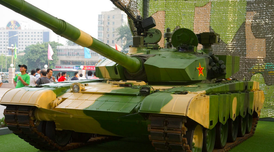 Type 99 Main Battle Tank  MilitaryTodaycom