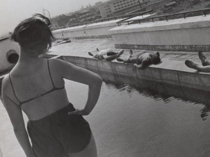 Утренняя гимнастика. Фото А. Родченко, 1932.